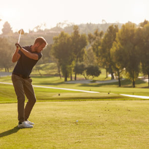 The Grove Hotel Overnight Stay and Play Golf Package with Range Rover Vogue Chauffeur for Two