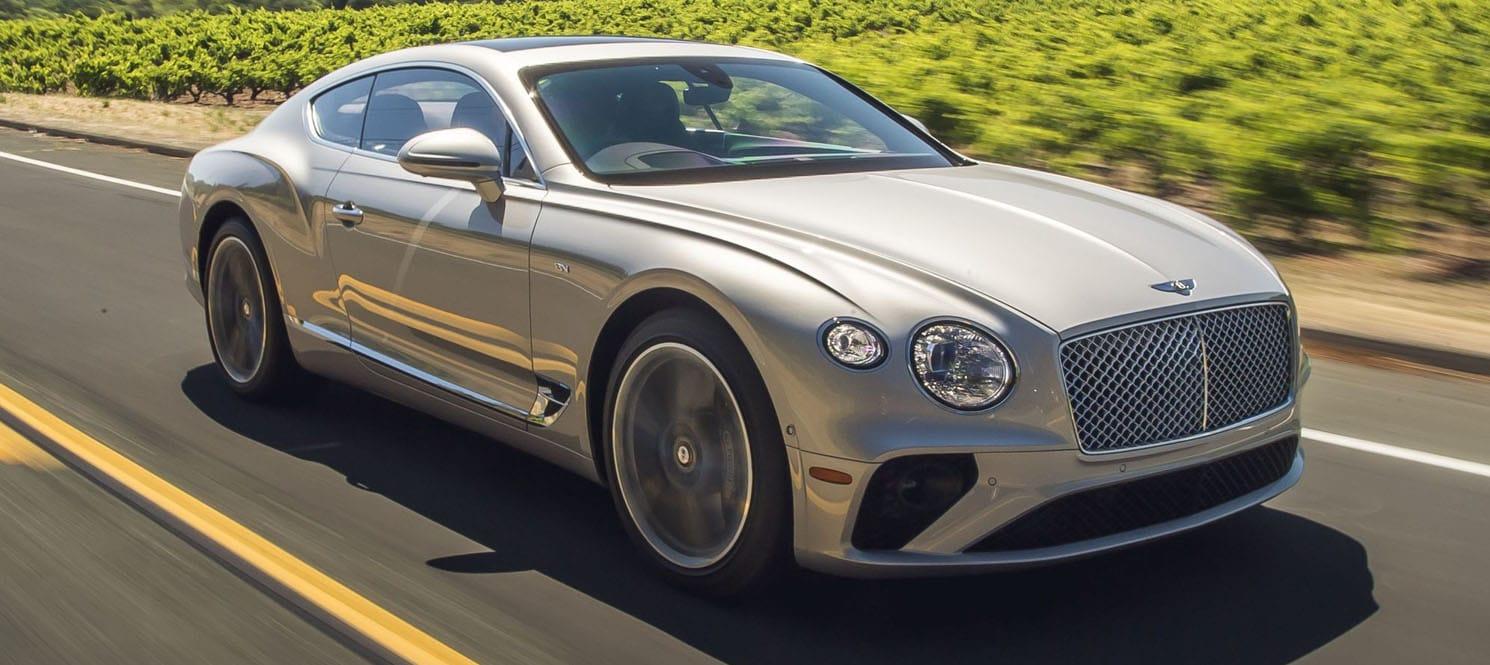Hire Bentley GT uk 2020