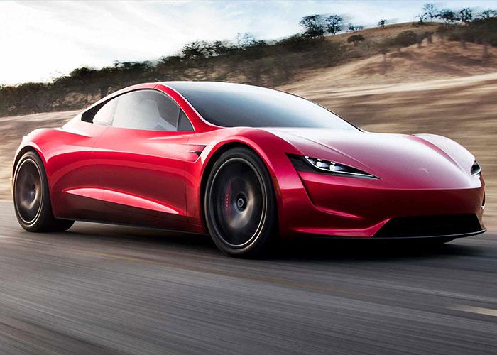 HIRE Tesla Roadster UK