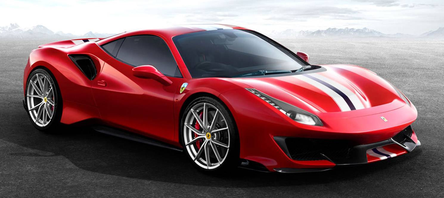 HIRE FERRARI 488 PISTA UK