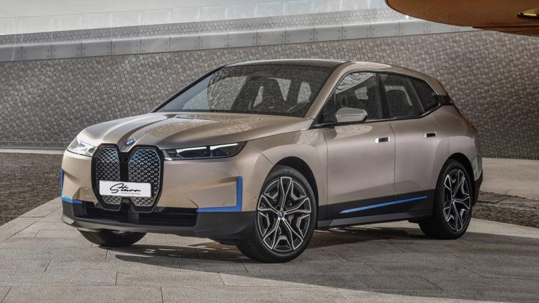 Starr Luxury Cars - BMW IX SUV